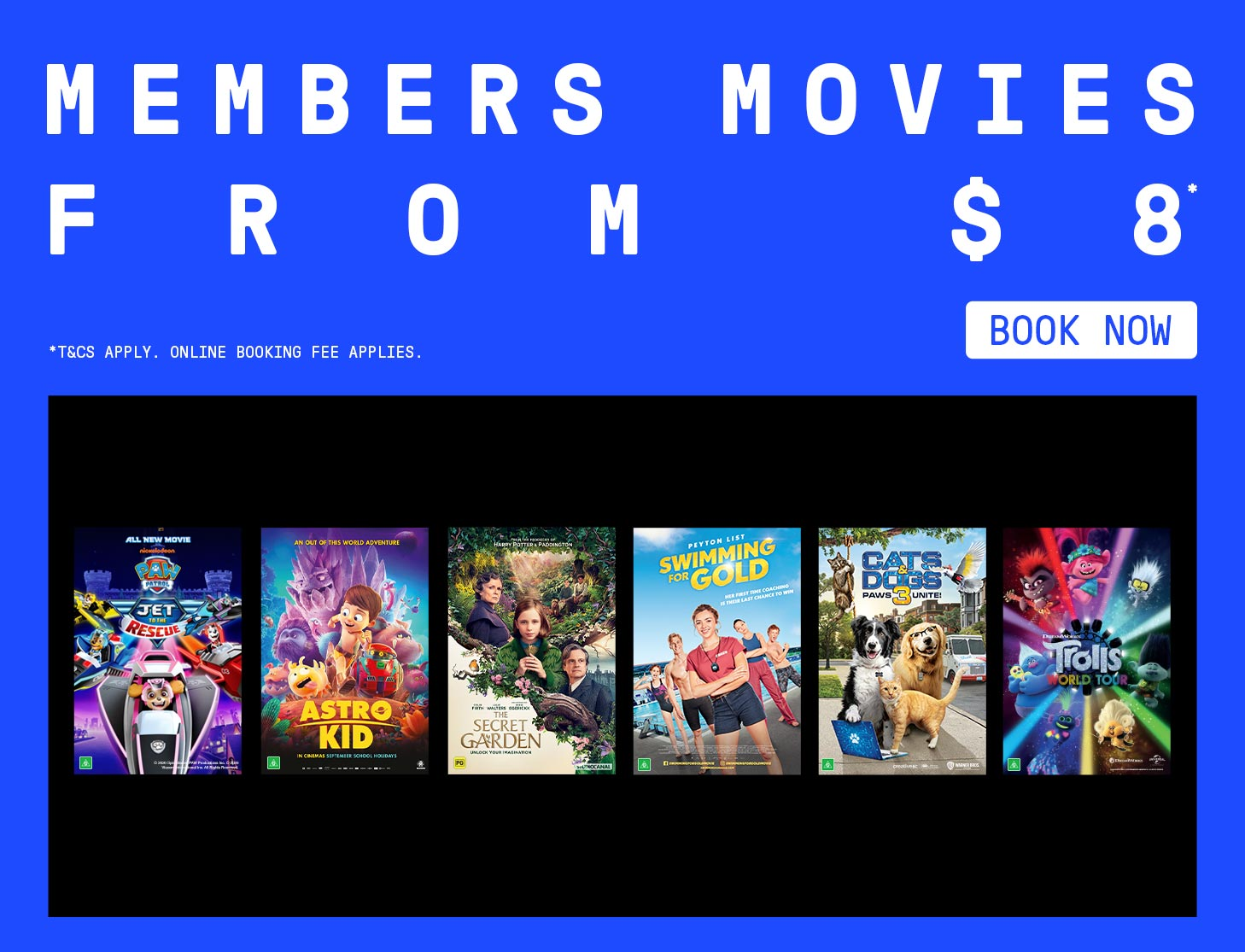 Members Movies From $8